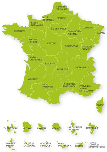 Investissements d'Avenir par régions