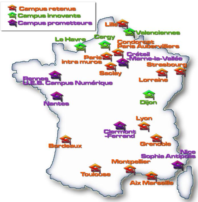 Dotations Opération Campus