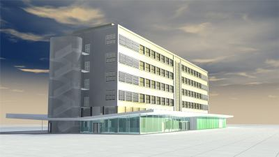Exposition Opération Campus, Bordeaux projet 1